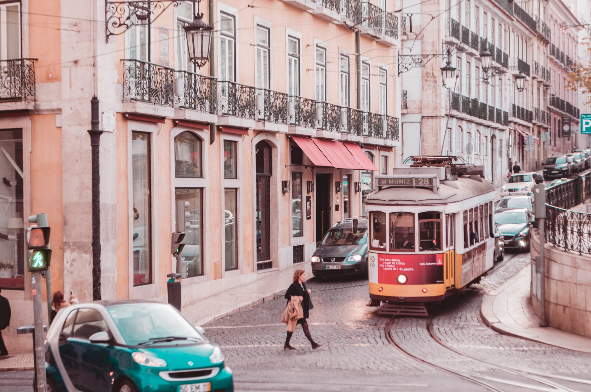 Centralt hotel i Lissabon