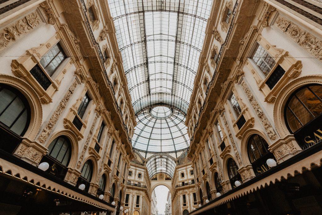 Galleria Vittorio Emanuelle II i Milano