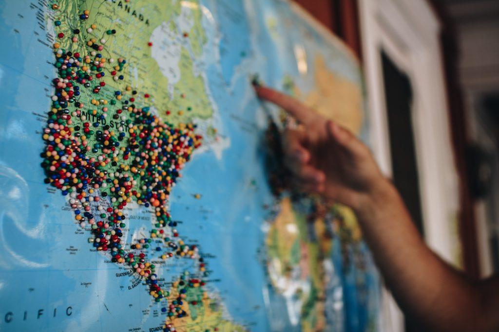 Mest besøgte lande i verden
