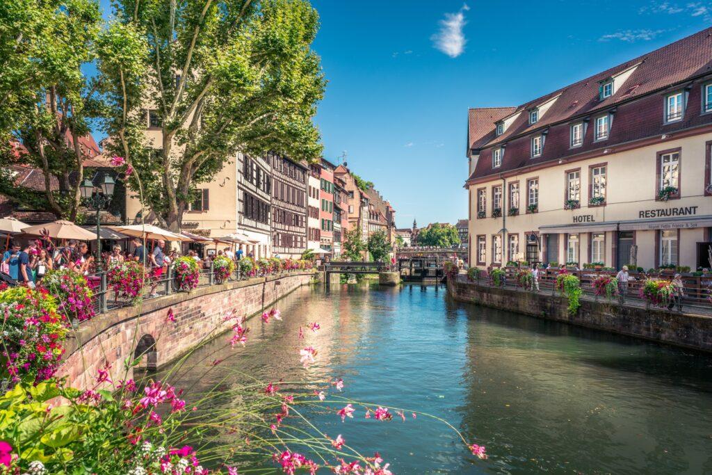 Hvor skal man bo i Strasbourg? Bedste områder og hoteller i Strasbourg