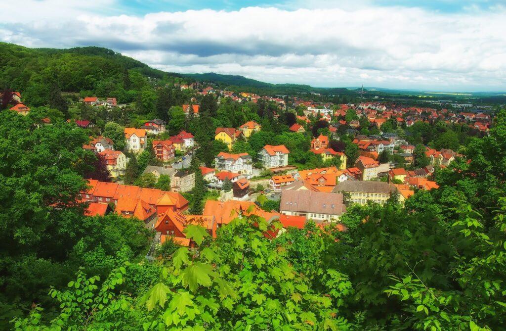 Besøg Blankenburg i området Harzen