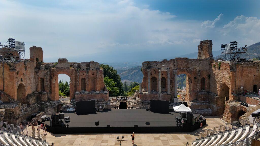 Besøg Taormina på Sicilien