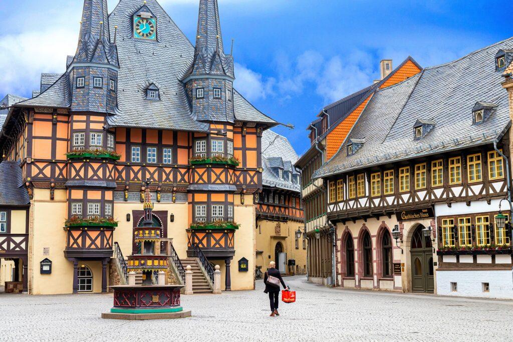 Hotel i Wernigerode, Harzen