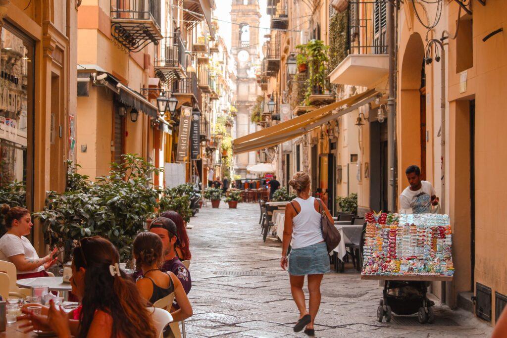 Hvor skal man bo i Palermo?
